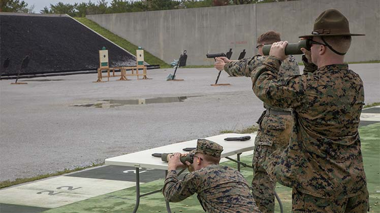 Marines showcase marksmanship skills at the 2018 Far East Marksmanship Competition on Okinawa