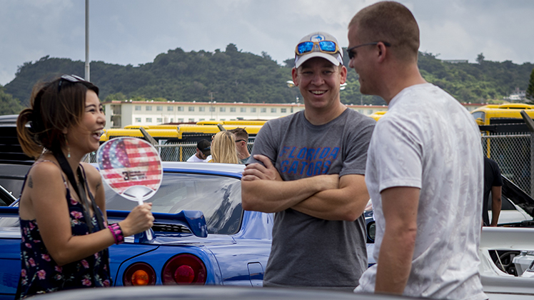USO holds 2nd annual car show