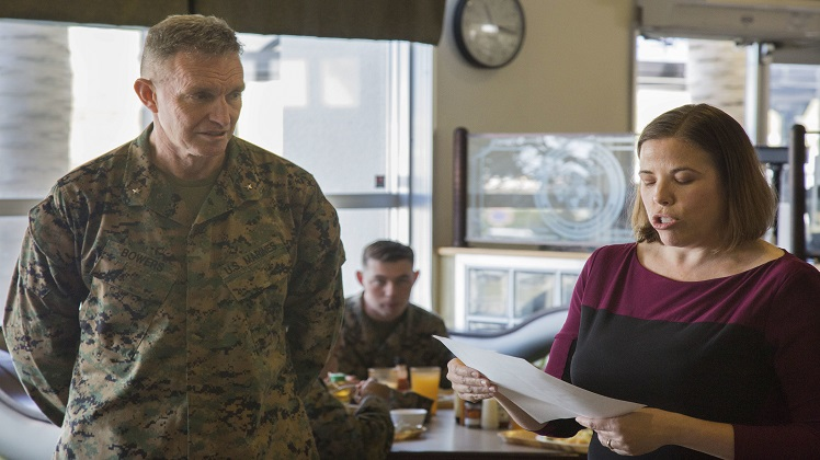 Navy-Marine Corps Relief Society holds annual kickoff for 2020 fund drive season